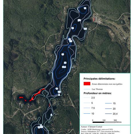 Étude sur la capacité portante du lac Thomas