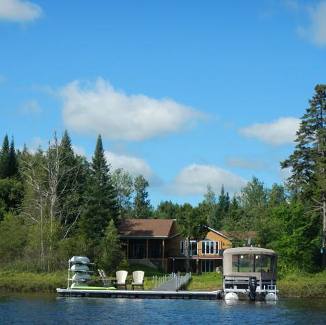 Caractérisation des rives de sept lacs de notre territoire d'intervention
