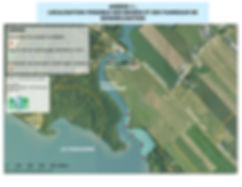 Localisation possible des bouées et panneaux de sensibilistion
