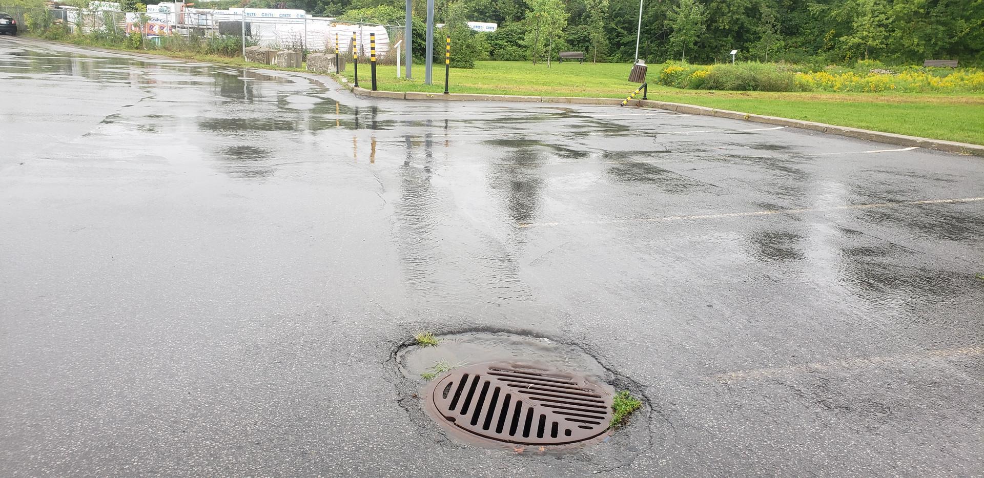 Égout pluvial conventionnel