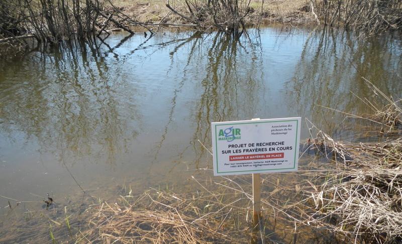 Pancarte explicative - rivière Matambin