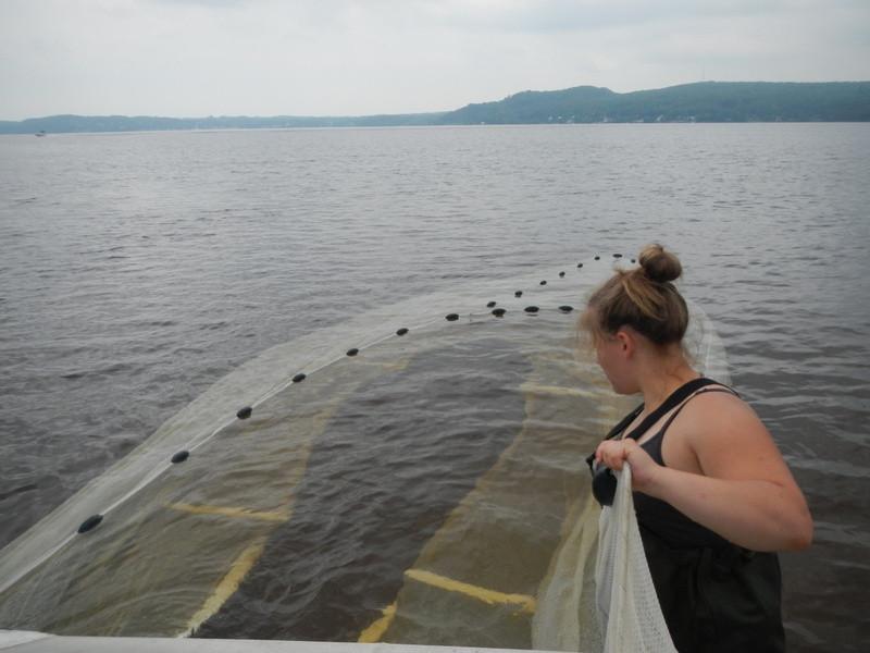 Seine au lac Maskinongé