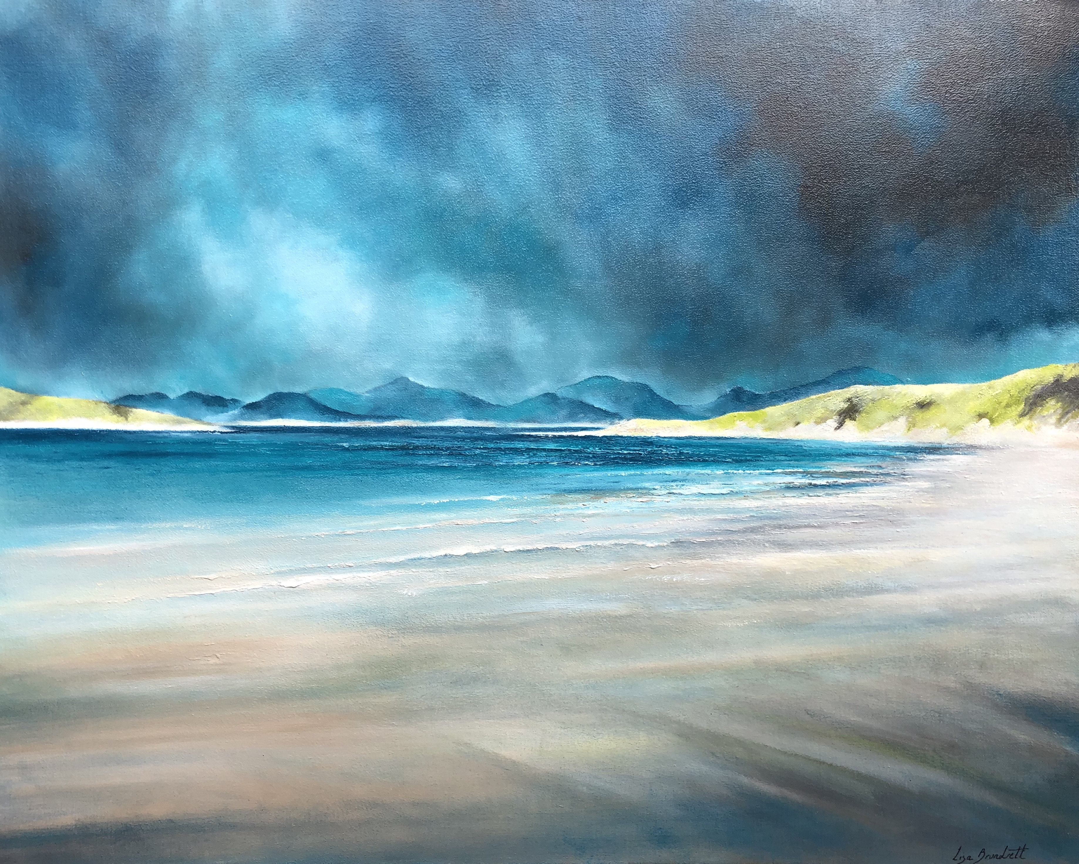 Shifting Light over Luskentyre
