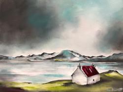 Red Roofed Bothie - Loch Shieldaig