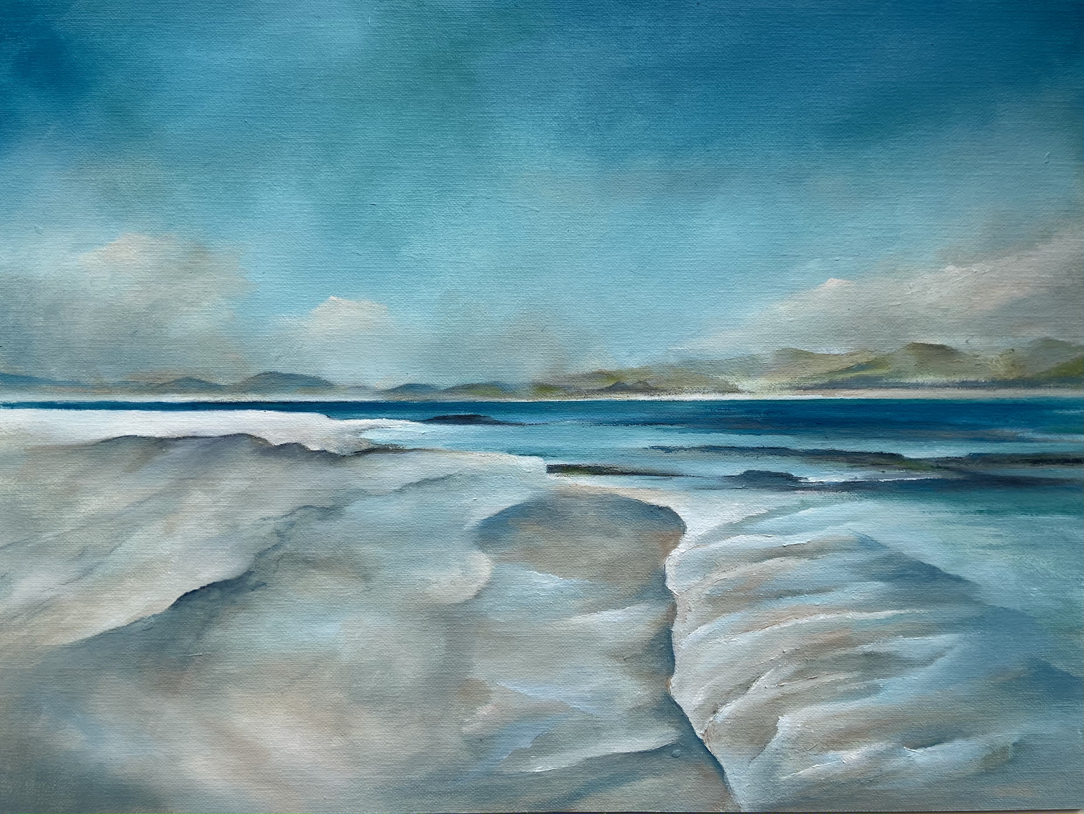 Incoming Tide - Eoligarry, Isle of Barra