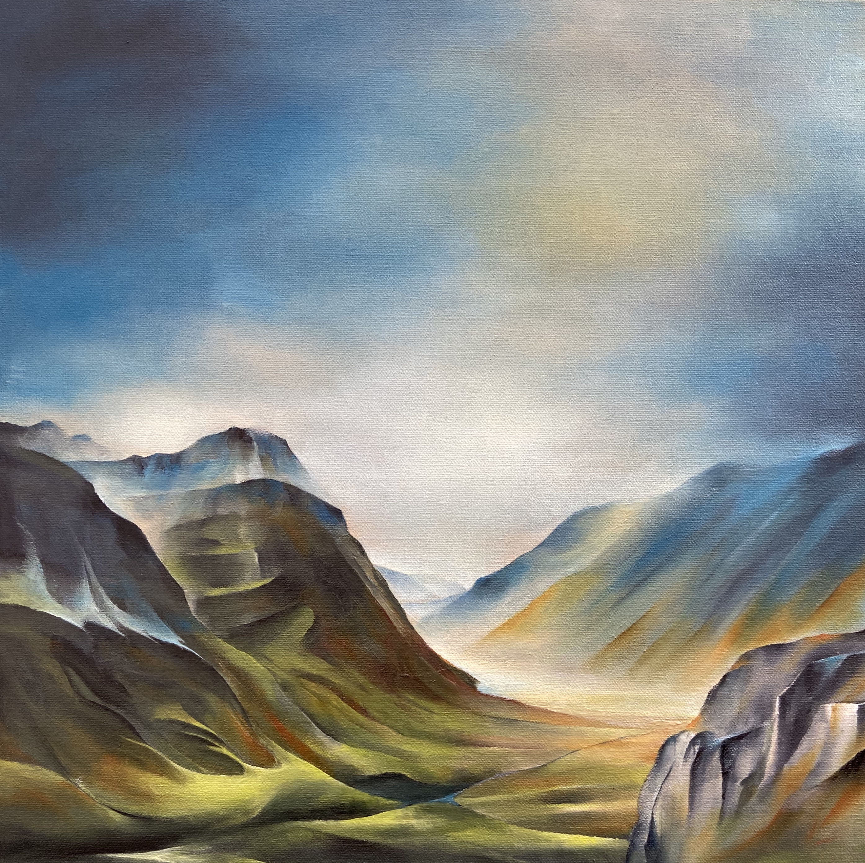 Lifting Mist - Glencoe
