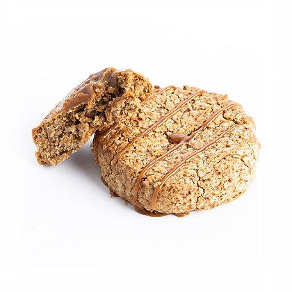 Cookie coeur Caramel - indice glycémique faible, vegan et sans gluten