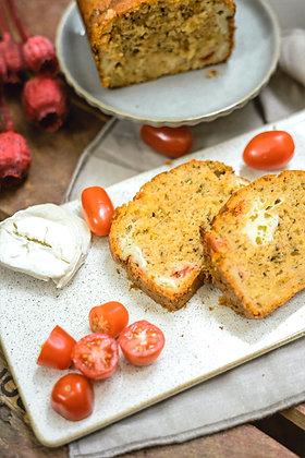 Cake Tomates Cerises Chèvre