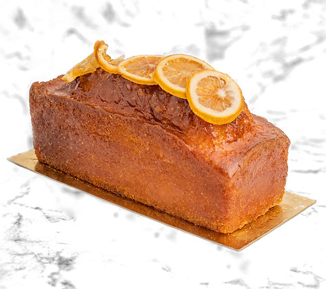Cake citron delicieux gourmand fruite