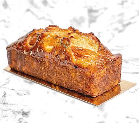 Cake fruité abricot romarin délicieux gâteau gourmand dessert