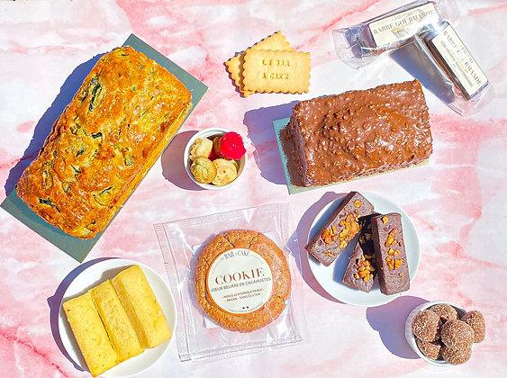 abonnement délicieux gourmandise gâteai petit déjeuner pâte à tartiner