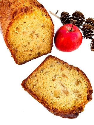 Cake pomme cannelle fruit gâteau pâtisserie sucré gourmande épicé