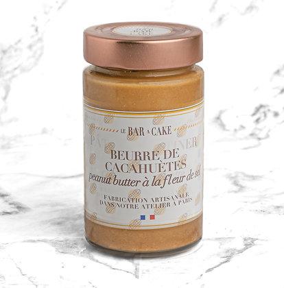 pate a tartiner beurre de cacahuetes gourmand fleur de sel vegan sans gluten