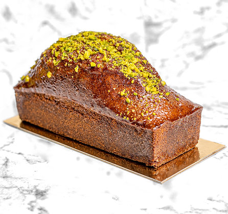 Cake pistache gourmand familial sucre