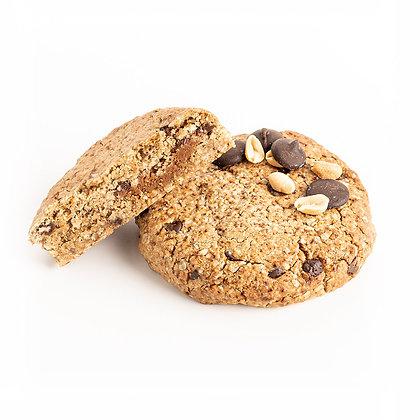 Cookie cacahuètes gourmand goûter petit déjeuner vegan sans gluten ig bas