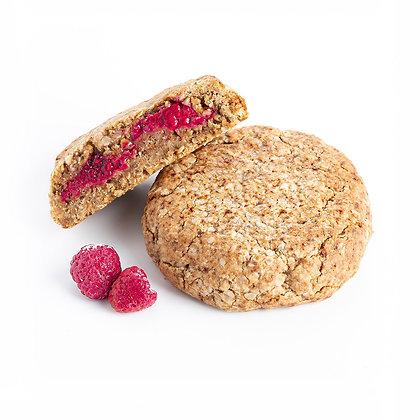 Cookie Framboise - Indice Glycémique Faible, Vegan et Sans Gluten