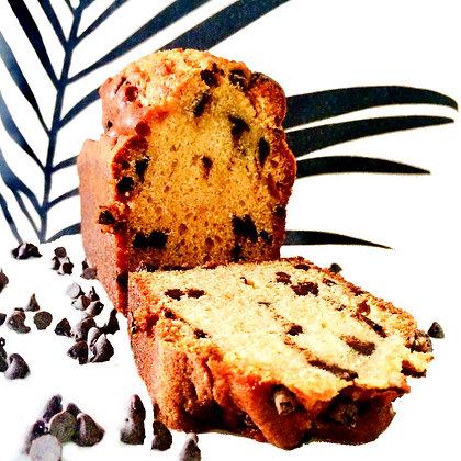 Gâteau pépites de chocolat pâtisserie cake délicieux