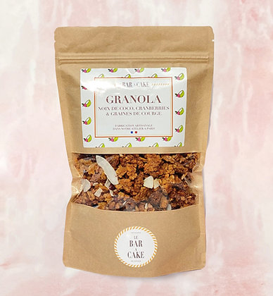 granola chocolat noir gourmand petit déjeuner sans gluten yaourt delicieux