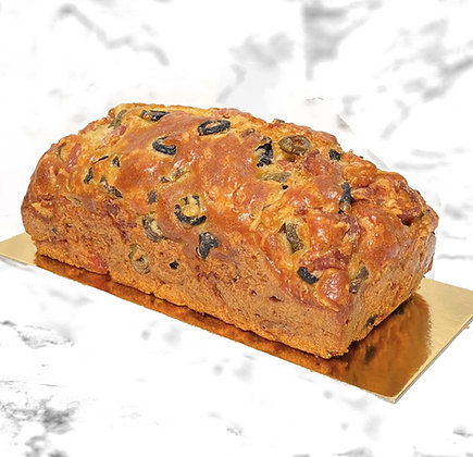 cake apéritif jambon olive délicieux gâteau salé