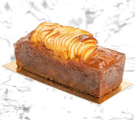 cake pomme tatin delicieux moelleux fruit
