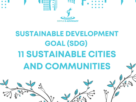 Sustainable Development Goal (SDG) 11 Sustainable Cities and Communities