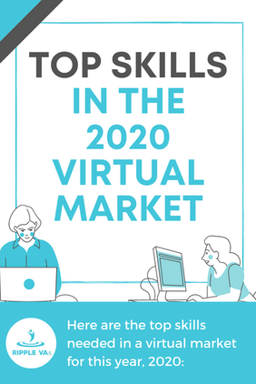 Here are the top skills needed in a virt