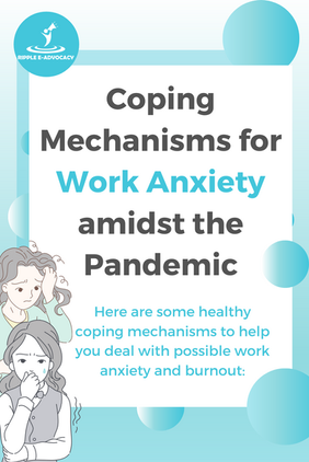 Coping Mechanisms for Work Anxiety amids