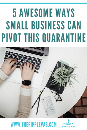 5 awesome ways small business can pivot