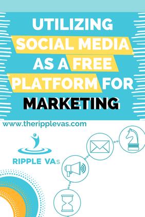 Utilizing Social Media as a Free Platfor