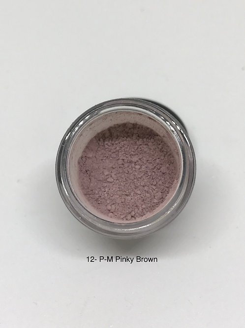 12 Pure Matte Pinky Brown
