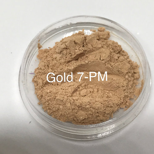 Gold Pure Mineral Eyeshadow SM-7