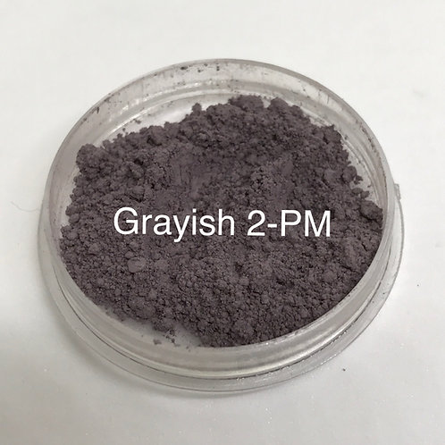 Grayish Pure Matte Mineral Eyeshadow