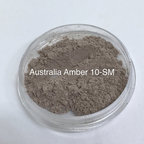 10 Semi Matte Australian Amber