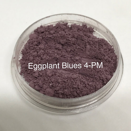 Eggplant Blues Pure Mineral Eyeshadow