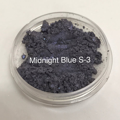 Midnight Blue Pure Mineral Eyeshadow