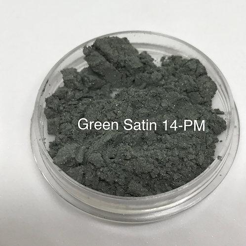 Green Satin Pure Mineral Eyeshadow