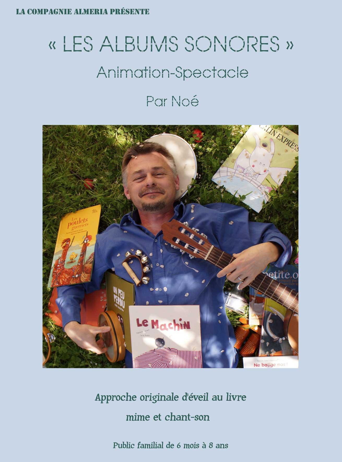 """Photo spectacle """"Album sonore"""""""