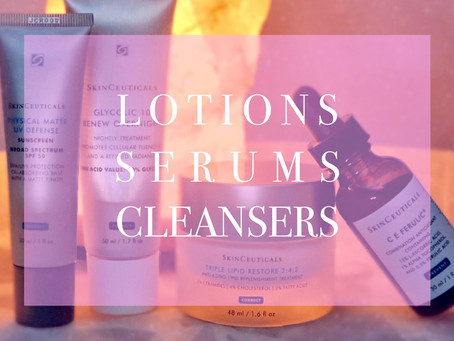 Serums! Creams! Lotions! Oh my!!!