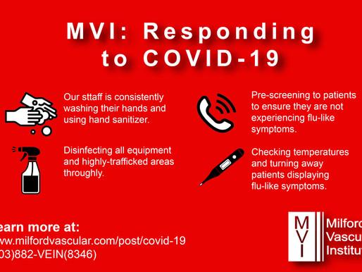 Milford Vascular Institute: Responding to Covid-19