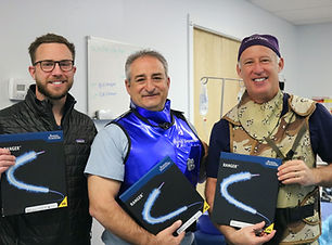Drs. Esposito & Davis using new Ranger.J