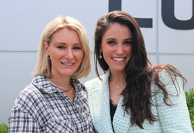 Amanda Hershman, RN & Ashley Fitzgerald.