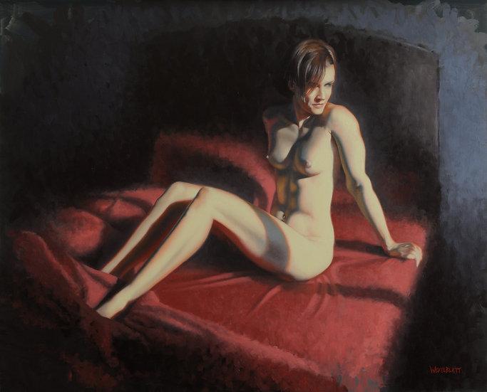 """Saturday Morning"". By Adam Wexelblatt. Oil on Panel. 24""x30"""
