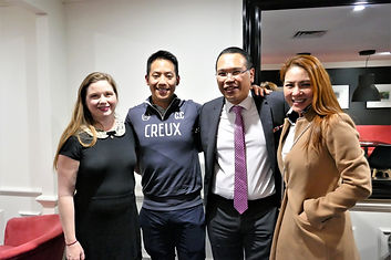 AMBCQ Members with Josiah Ng (second from left)