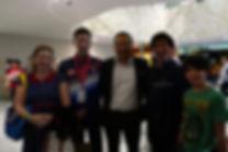 With Olympic Silver Medalist Goh V Shem