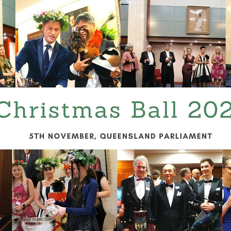Christmas Ball in Queensland Parliament, 2021