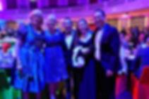 Louise Moeller, Cr Angela Owen, David Wijaja, President Shona and SVP Kiong at the Lord Mayor's Roundtable Dinner