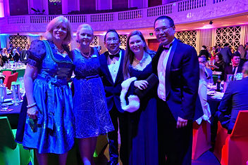 Louise Moeller, Cr Angela Owen, David Wijaja, President Shona and SVP Kiong at the Lord Mayor's Roundtable Dinner