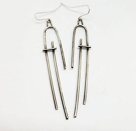 In-Stability Earrings - Sterling Silver