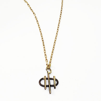 Tiny Cage Necklace