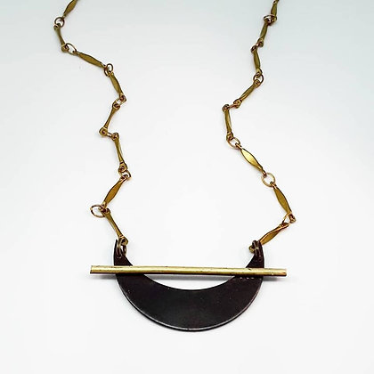 Across The Moon Necklace